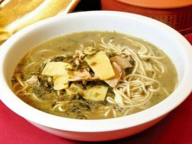 杭州小吃:杭州片儿川