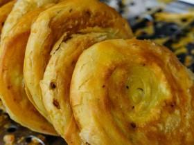 西安小吃:千层油酥饼