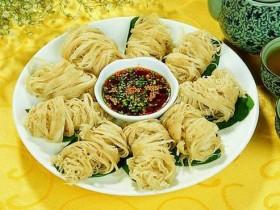 西安小吃:金线油塔