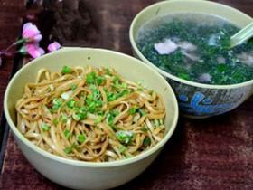 梅州小吃:梅县腌面