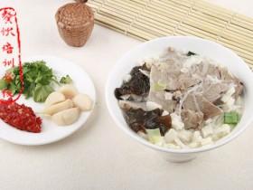 西安小吃:羊肉泡馍