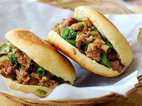 西安小吃:腊汁肉夹馍