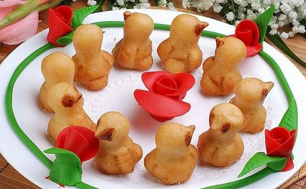 杭州小吃:小鸡酥