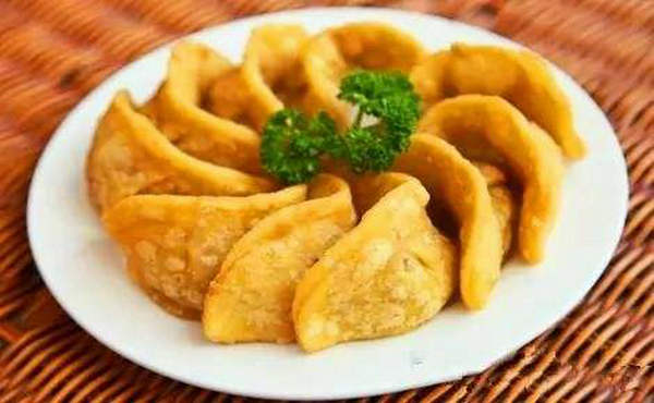 合肥小吃:三河米饺