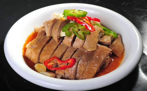 合肥小吃:吴山贡鹅